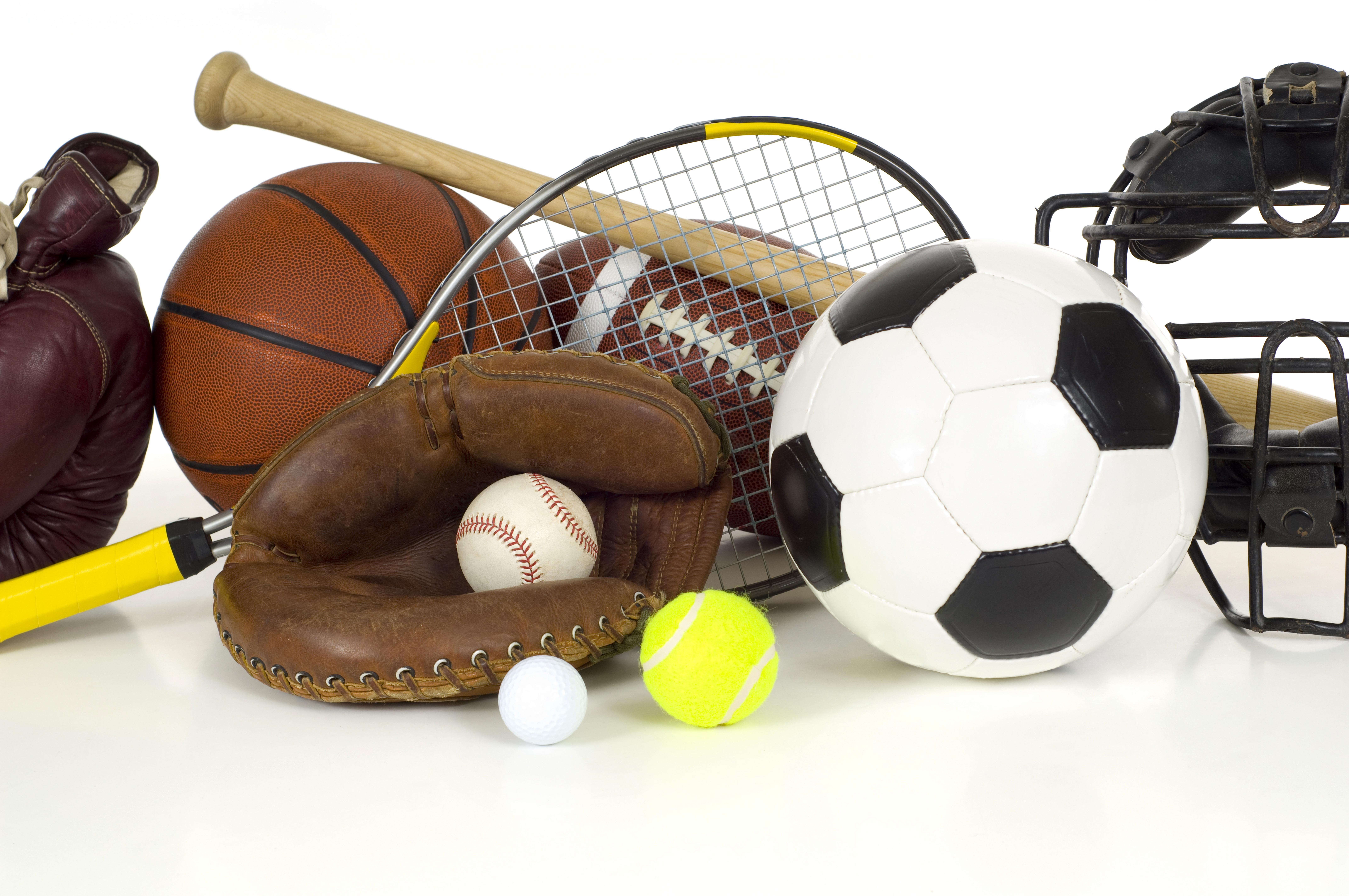 All sports equipment